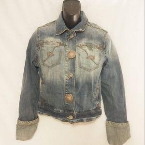 Rocawear Jean Jacket Size Large